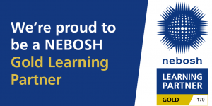 NEBOSH Gold Learning Provider Banner