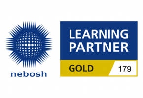 NEBOSH Gold Logo (Wide)